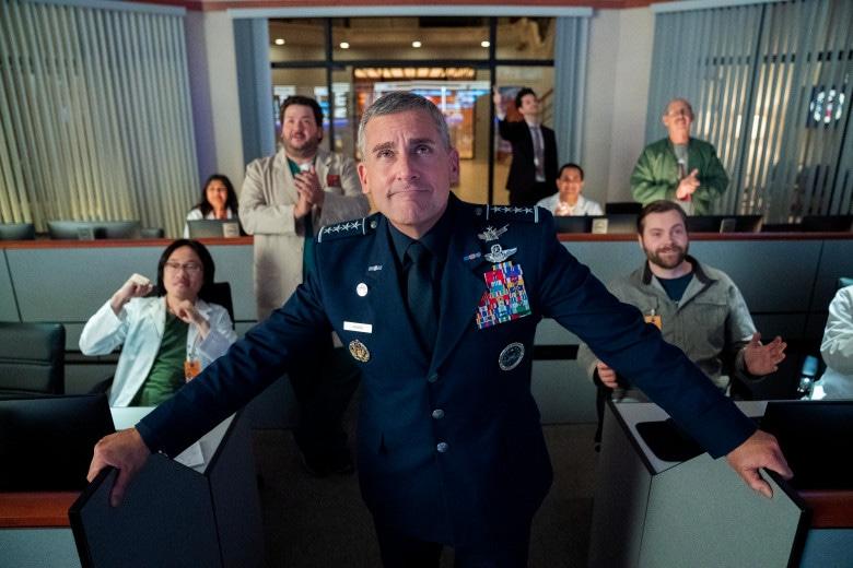 Image de Space Force, l'équipe contente d'elle