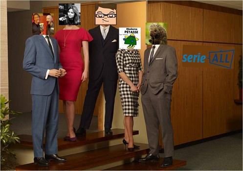 Le casting de Mad Men remplacé par les membres de l'Association Série-All