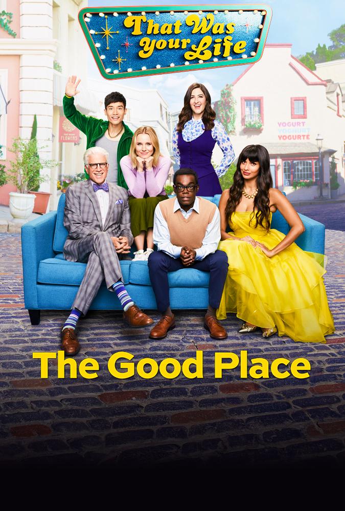 affiche the good place saison 4