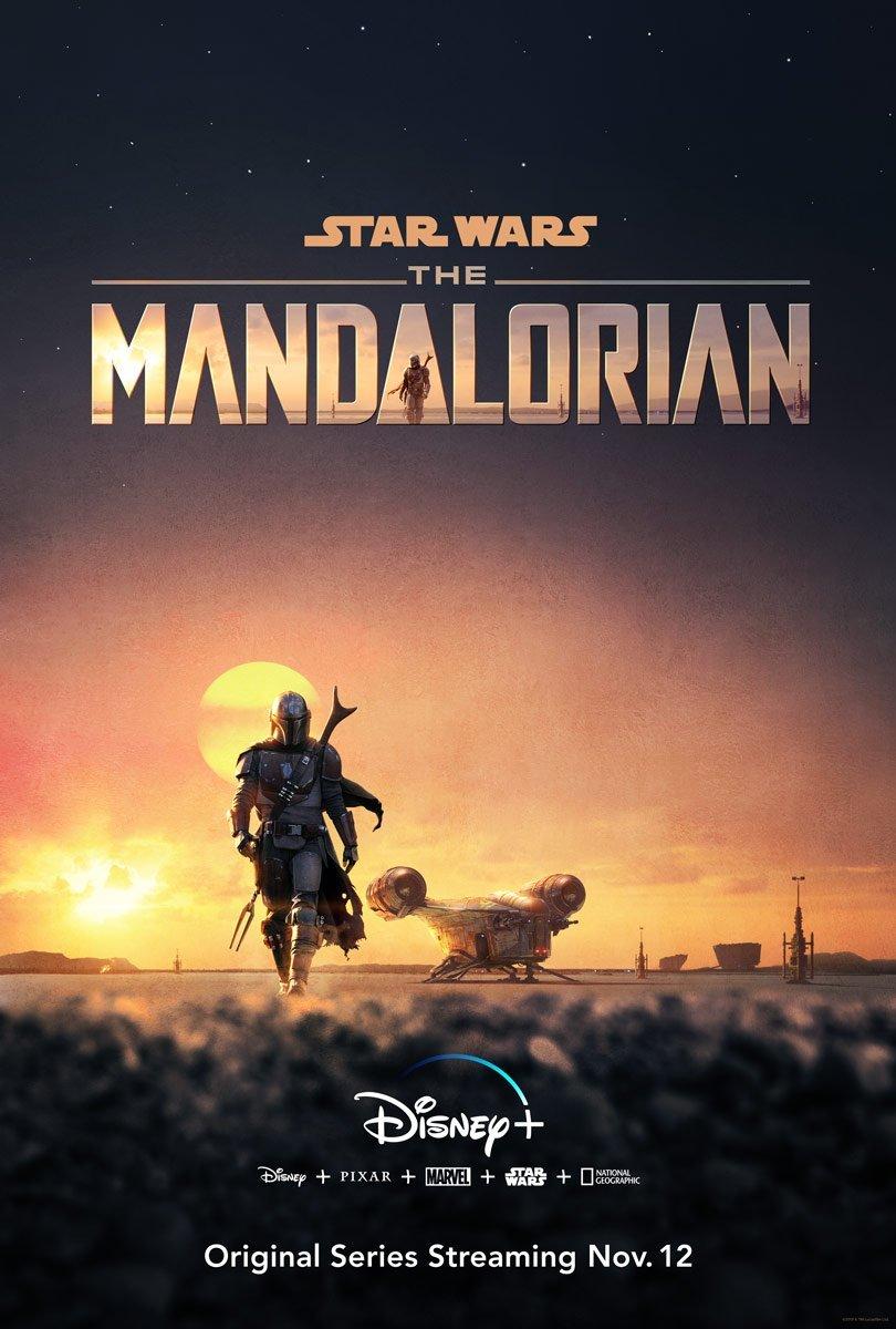 affiche the mandalorian