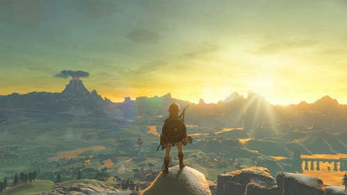 Poster du jeu The Legend of Zelda : Breath of the Wild
