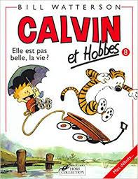 calvin et hobbes livre 8, elle n'est pas belle la vie, en confinement?