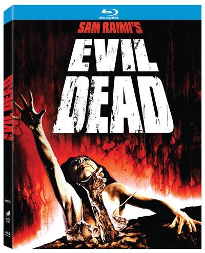 Coffret Blu-ray des trois Evil Dead