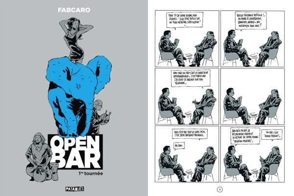 Fabcaro Open bar volume 1