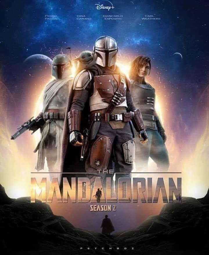 Affiche The Mandalorian saison 2