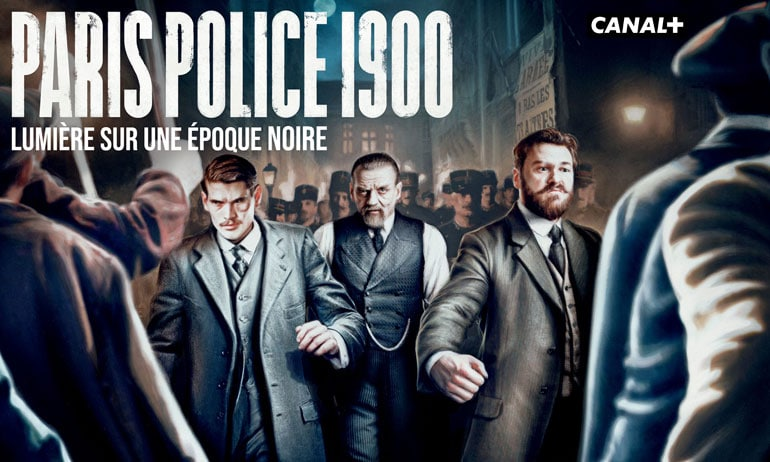 Affiche méga moche de Paris Police 1900