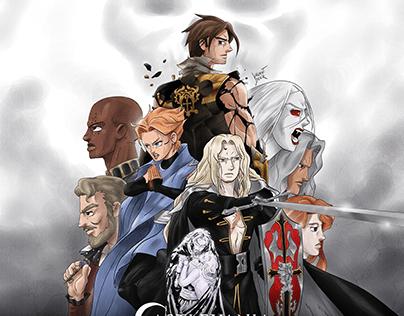 Affiche Castlevania saison 4