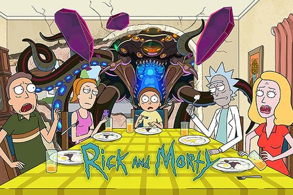 Affiche Rick & Morty saison 5