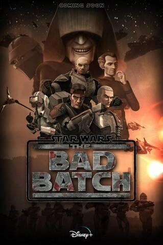 Affiche Star Wars The Bad Batch