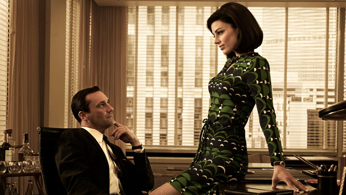 Don et Megan, Mad Men