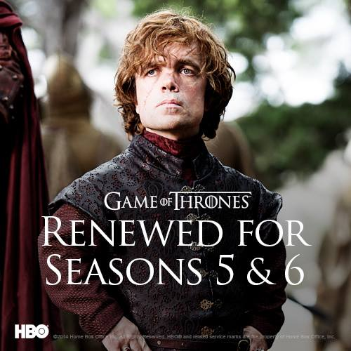 Game of Thrones season 5 and 6