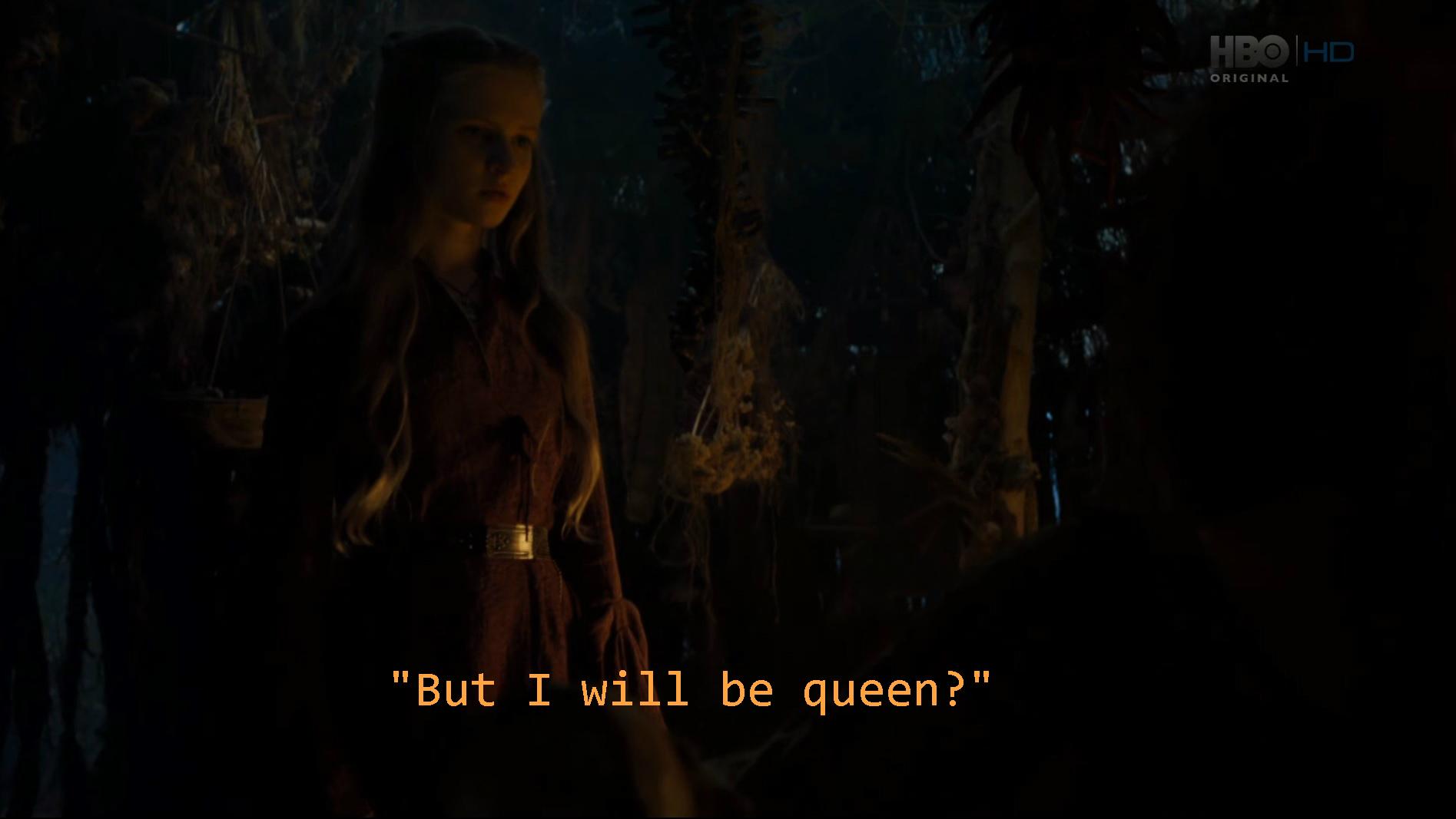 La prophétie de Cersei
