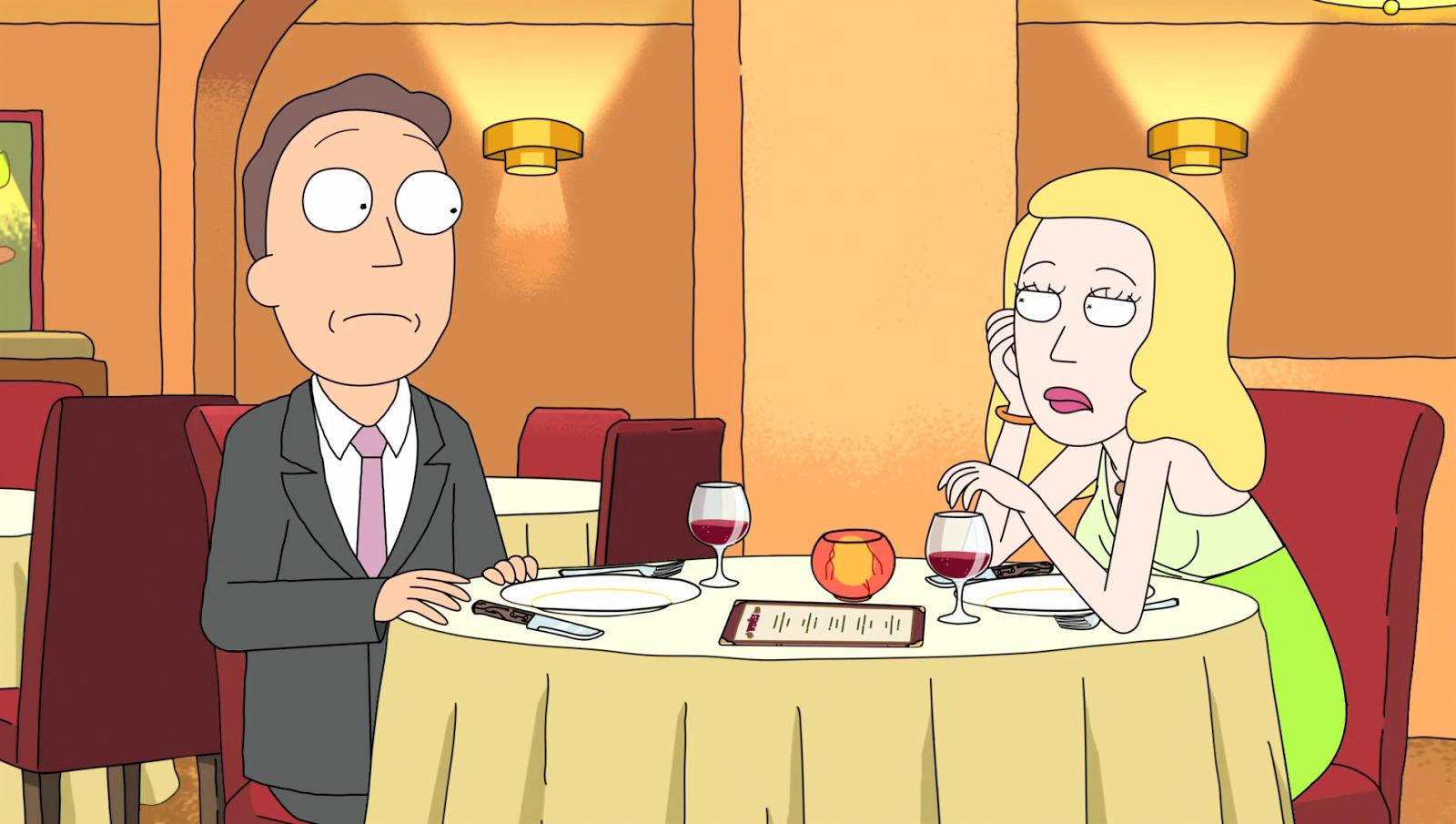 Beth et Jerry, Rick et Morty
