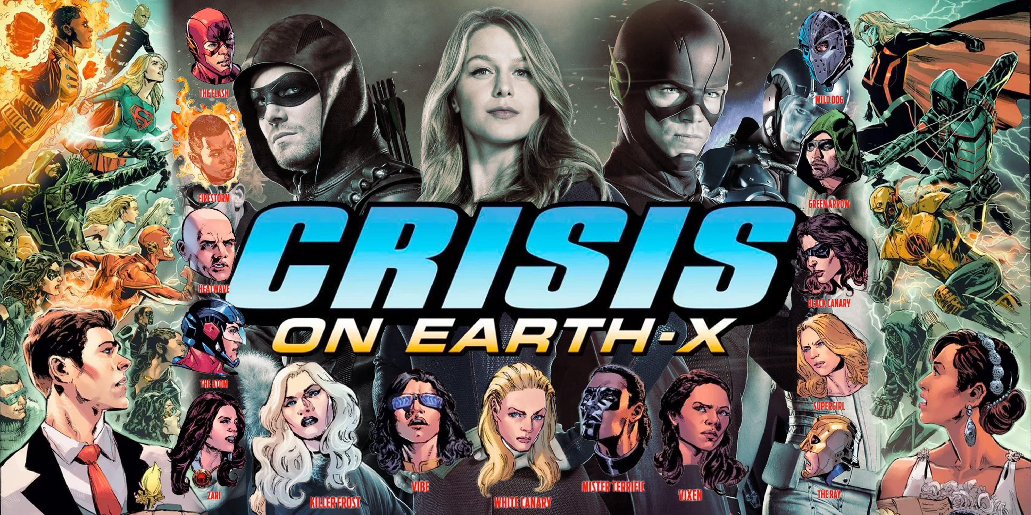 Poster promotionnel de Crisis on Earth-X