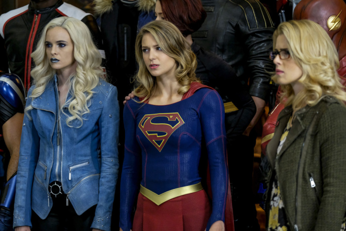 Killer Frost, Kara et Felicity