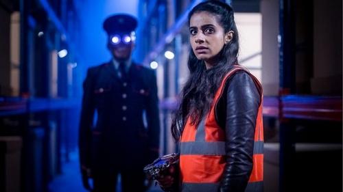 Doctor Who Kerblam! Gilet Orange