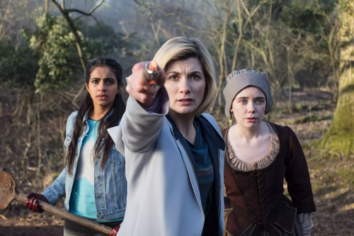 Doctor Who The Witchfinders - trio
