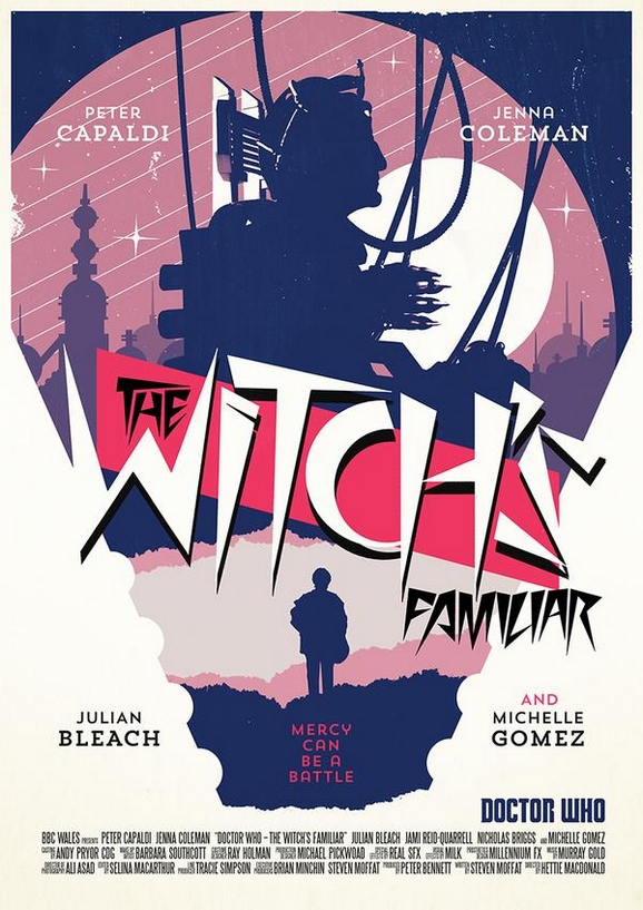 Poster Doctor Who The Witch's Familiar, Stuart Manning, RadioTimes