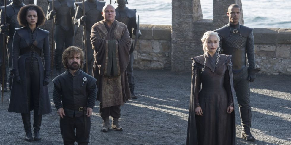 Daenerys et sa troupe de joyeux lurons