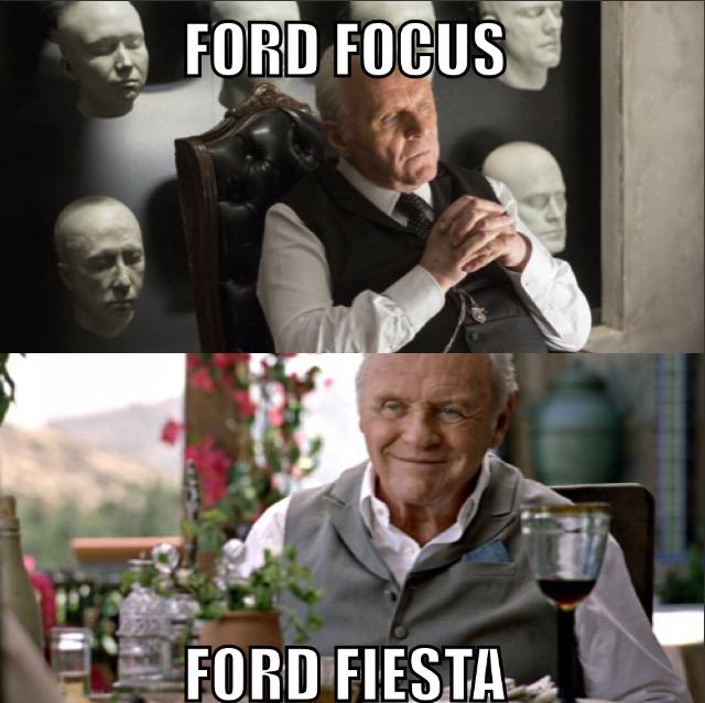 Ford Focus - Ford Fiesta