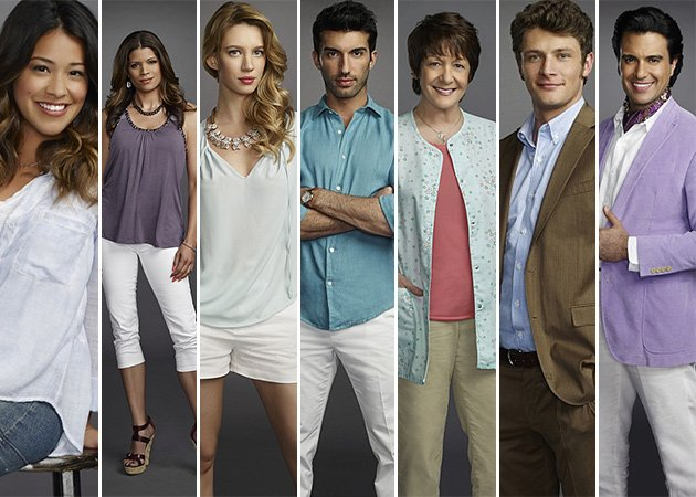 De gauche à droite: Jane, Xiomara, Petra, Rafael, Alba, Michael et Rogelio de la Vega