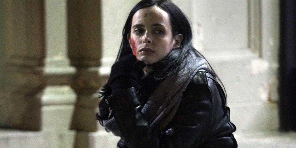 Jessica Jones en mauvais état