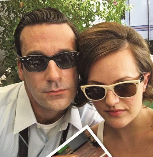 Peggy Olson et Don Draper