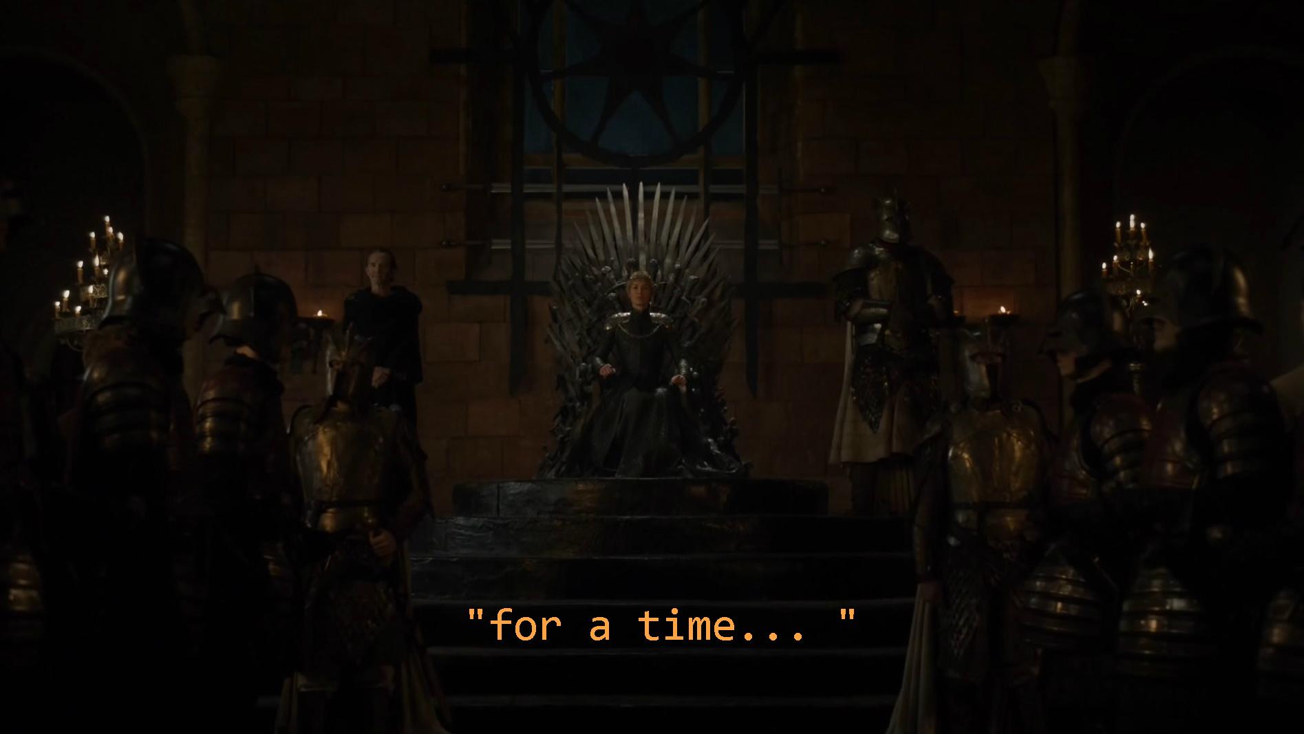 La Reine Cersei