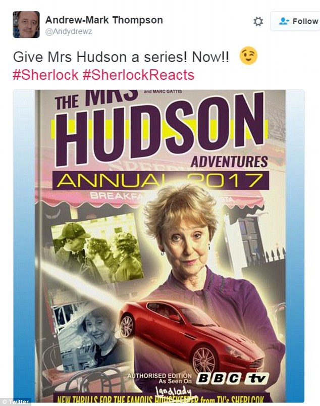 Mrs Hudson veut son spinoff