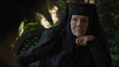 Lady Olenna de Game of Thrones