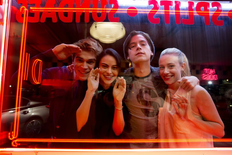Betty, Veronica, Jughead et Archie