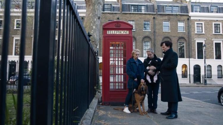 Sherlock, Watson, Mary et un chien