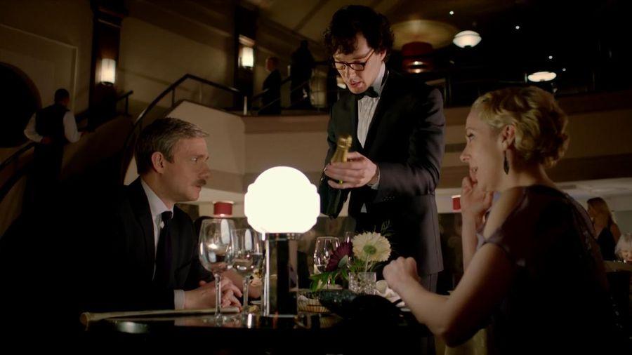 Sherlock, John et Mary