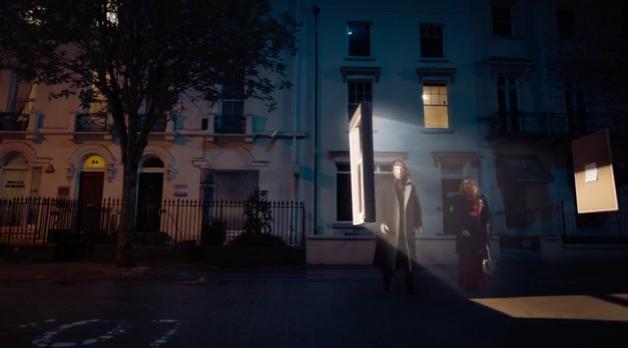 Sherlock dans la rue