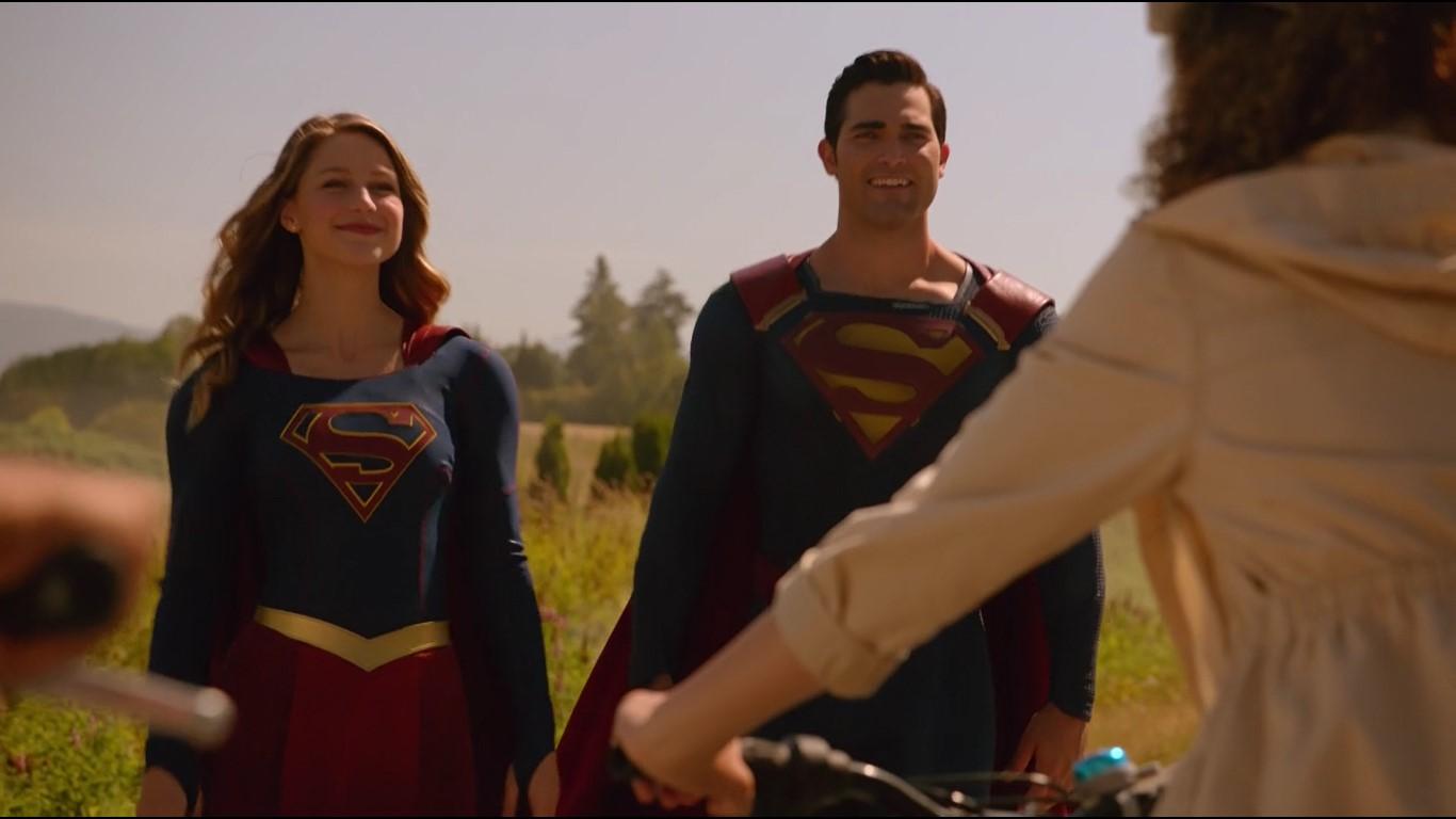 Supergirl et Superman