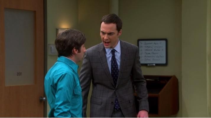 Sheldon le professeur