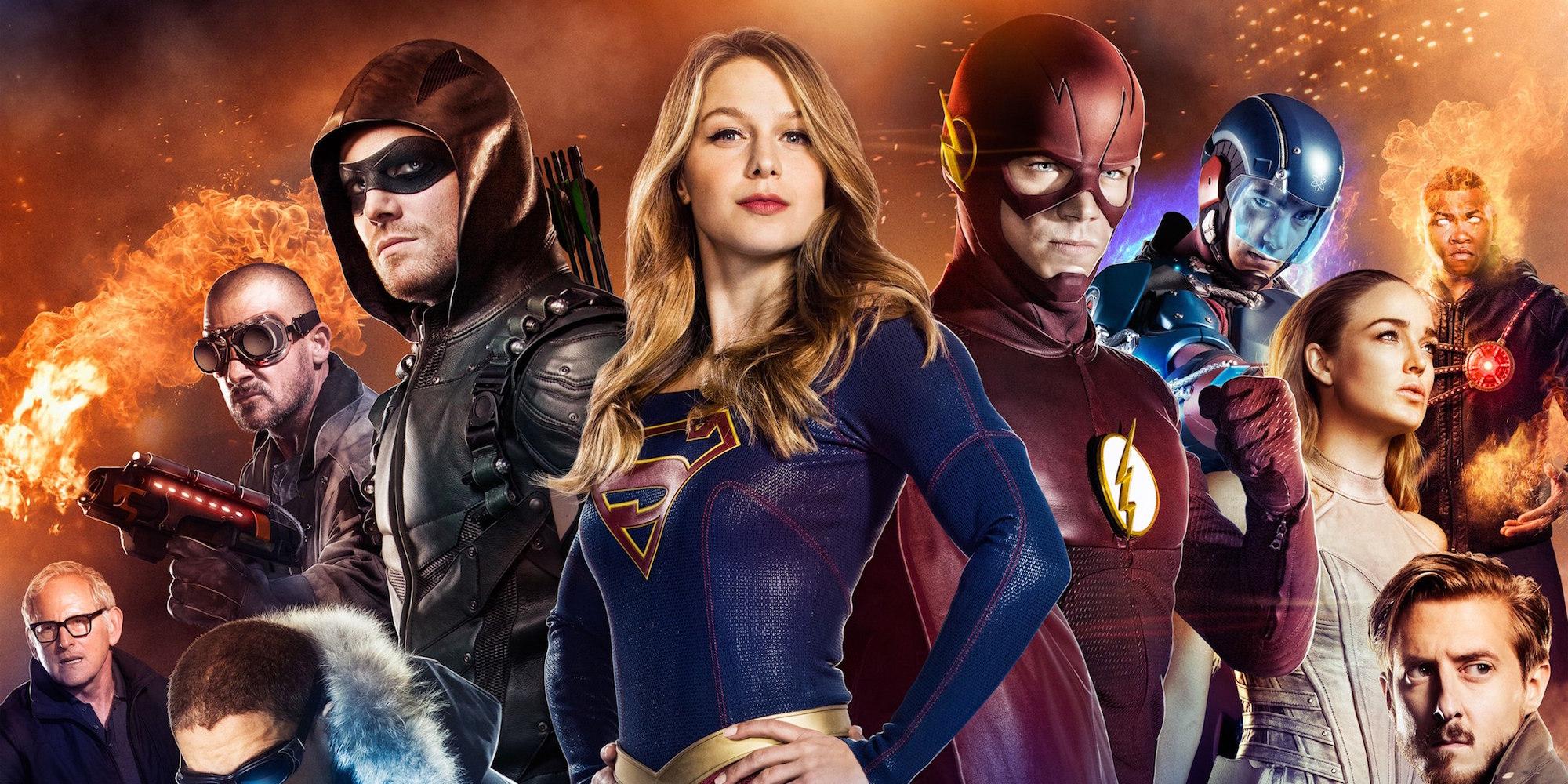 Les quatre séries super-héroïques de la CW