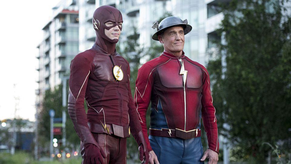 Le Flash et Jay Garrick