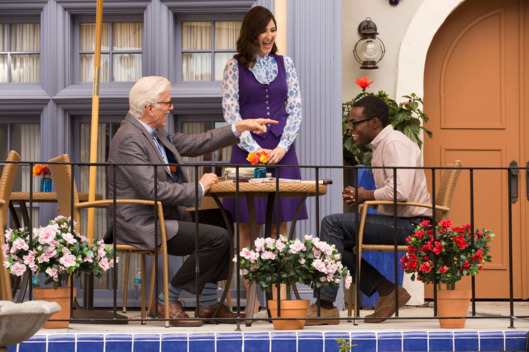 Chidi, Michael et Janet