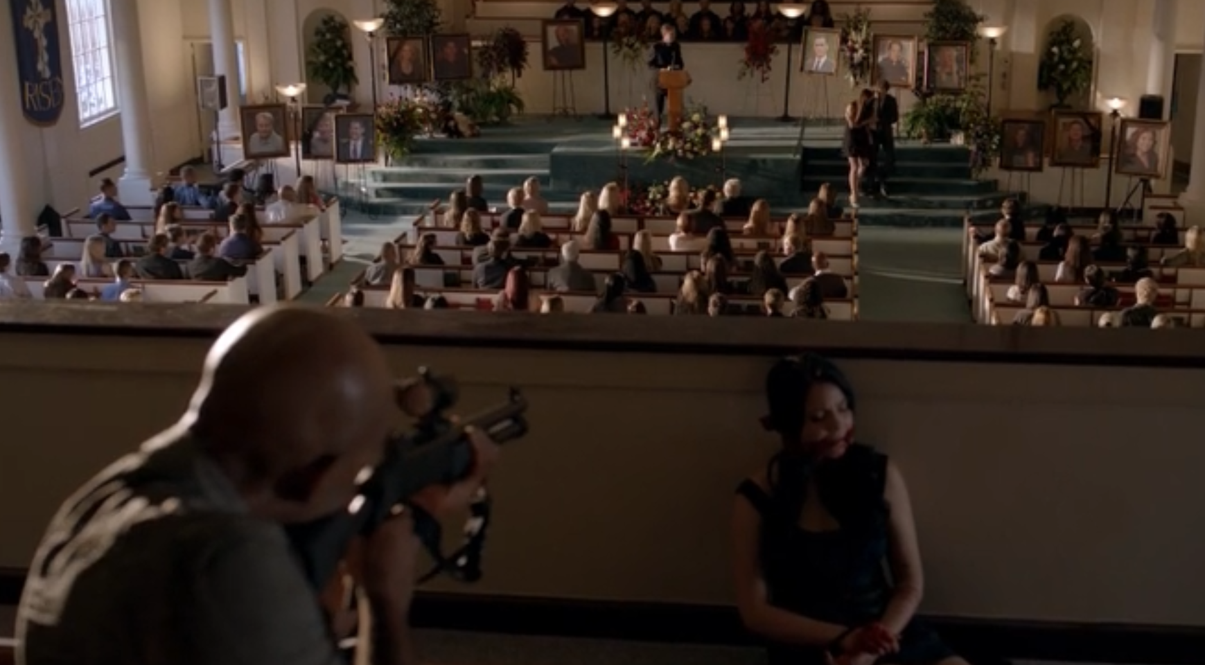 The Vampire diaries S04E02 - tension