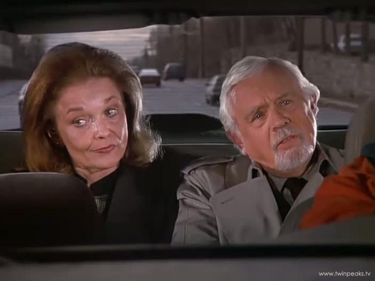 Warren Frost et Grace dans Seinfeld