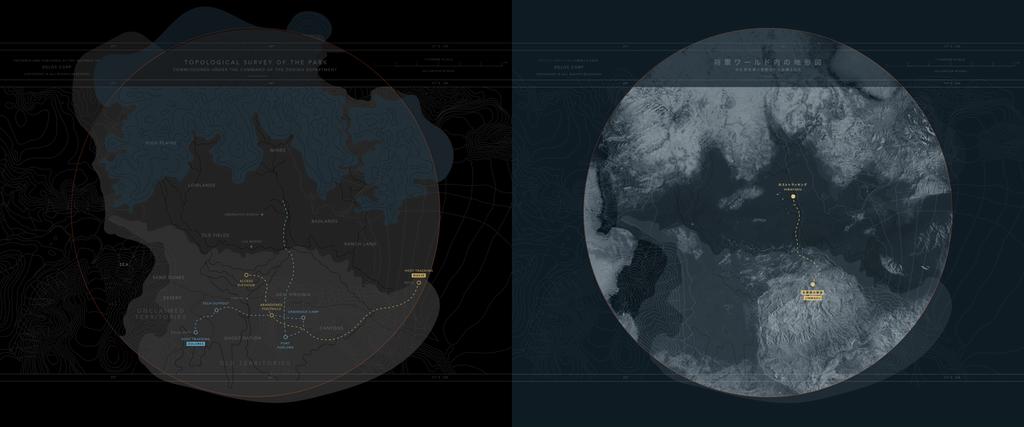 Carte westworld et shogunworld