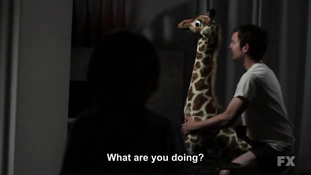 sodomie de girafe