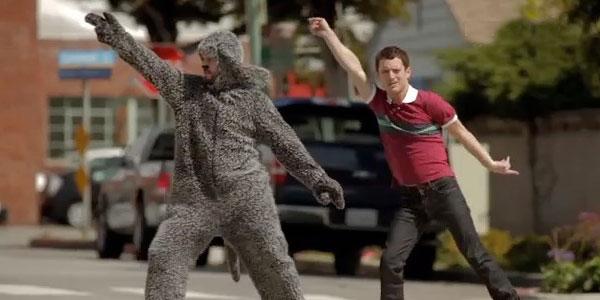 Wilfred et Ryan dansent