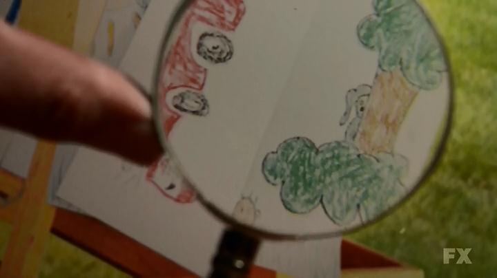 Wilfred sur un dessin