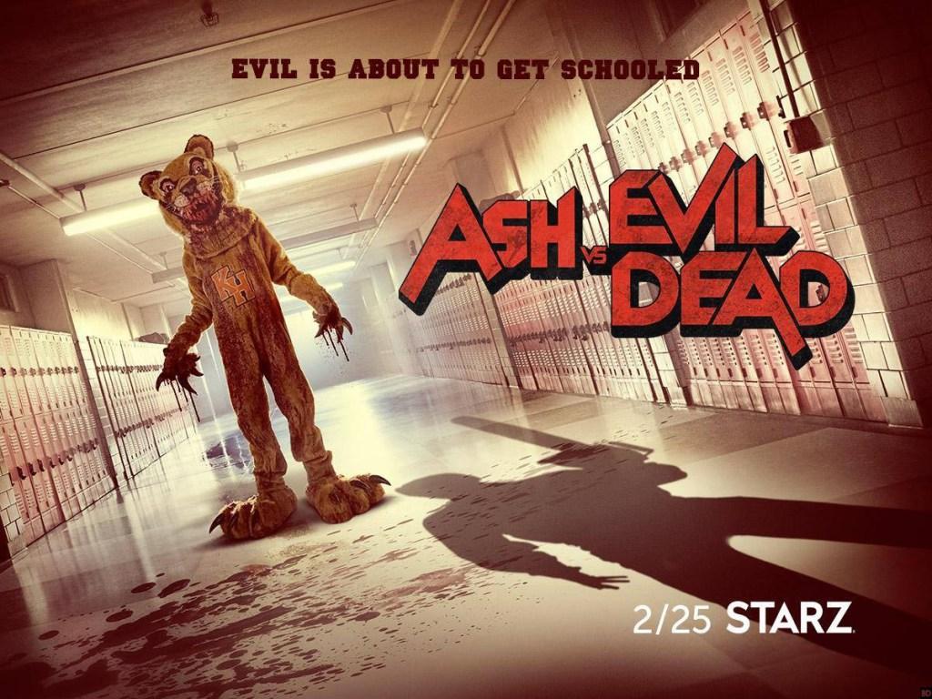 poster ash vs evil dead saison 3