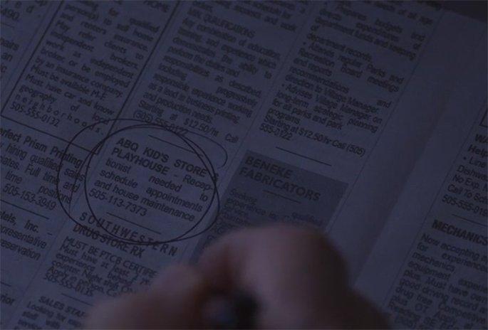 Gros plan sur les petites annonces du journal