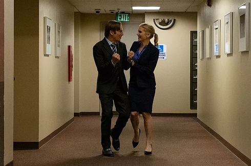 Better Call Saul 410 : Kim et Jimmy heureux