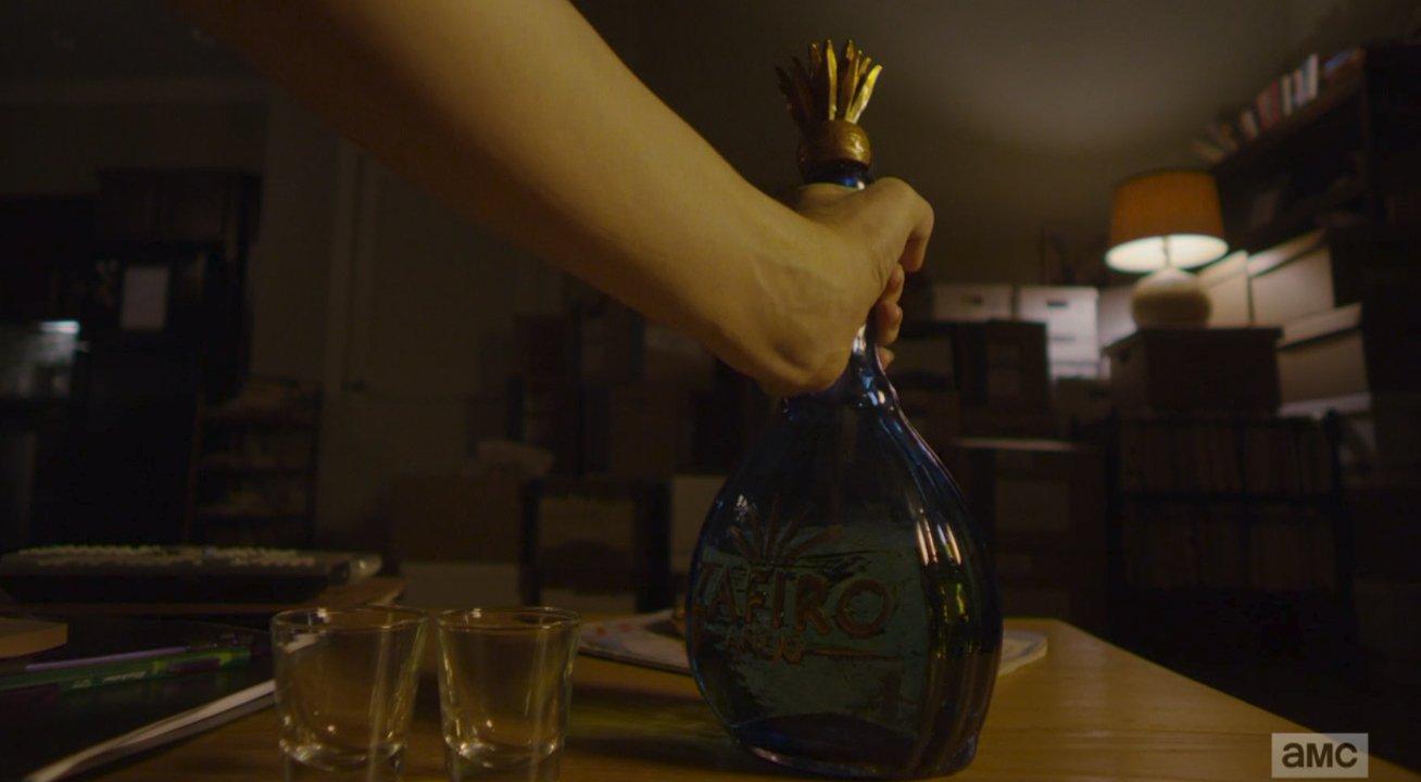 La bouteille de tequila