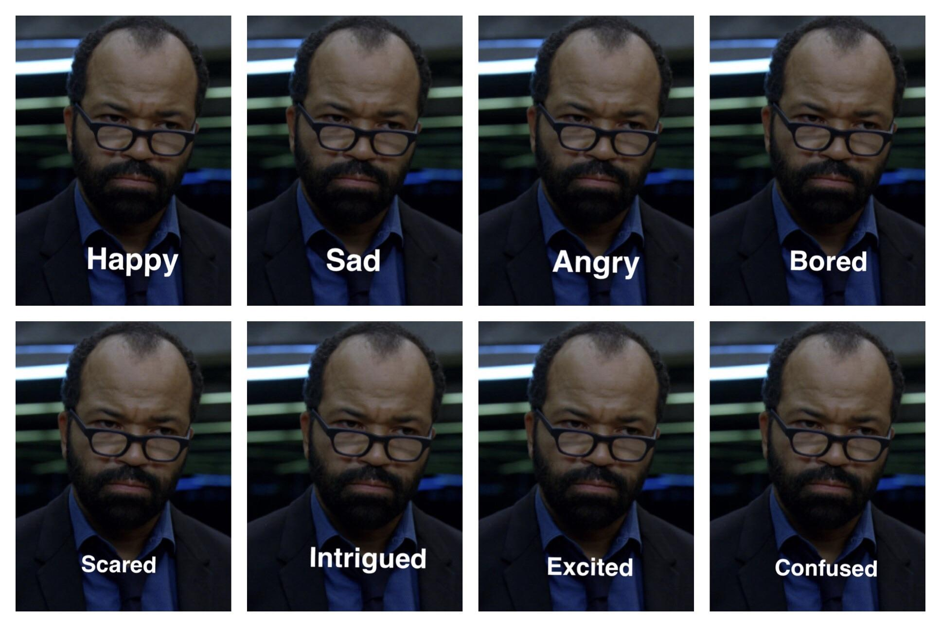 Bernard Emotions Westworld